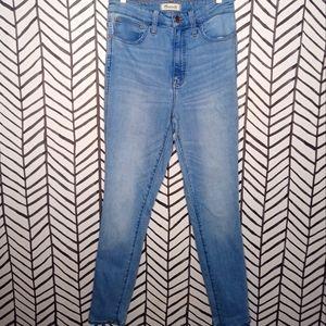 Madewell Jeans Curvy RoadTripper Tall Length High Waist